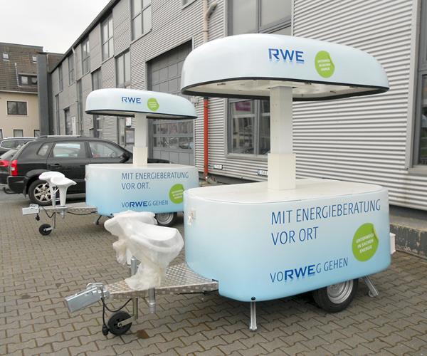 RWE Promotion Anhänger